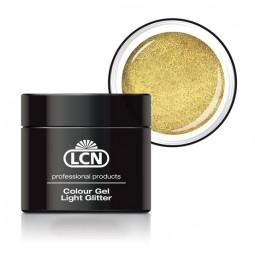 Colour Gel Light Glitter Light Gold 5ml