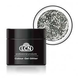Colour Gel Glitter Silver 5ml
