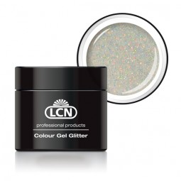 Colour Gel Glitter Hologram Coated Silver 5ml