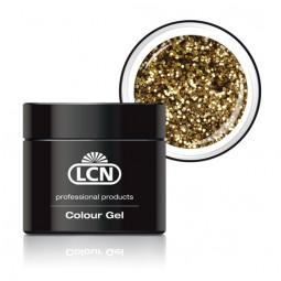 Colour Gel Glitter Light Gold 5ml
