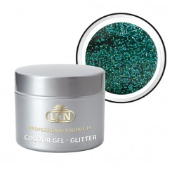 Colour Gel Glitter Hologram Cayman Green 5ml