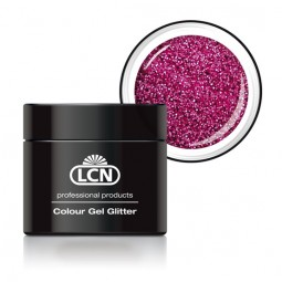 Colour Gel Glitter Pink Passion 5ml