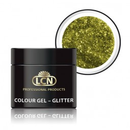 Colour Gel Glitter Fancy Yellow 5ml