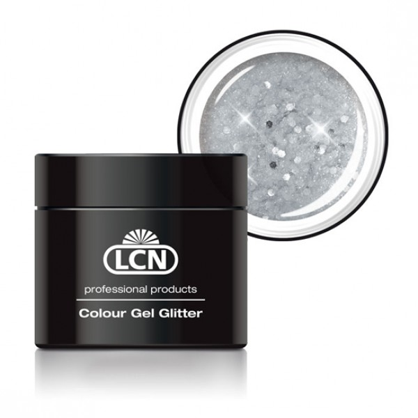 Colour Gel Glitter Big Silver Show 5ml