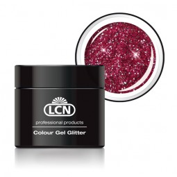Colour Gel Glitter Sparkling Bordeaux 5ml