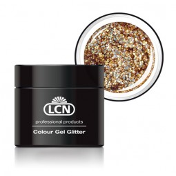 Colour Gel Glitter Gold Rush 5ml