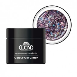 Colour Gel - Glitter, milky way 5 ml