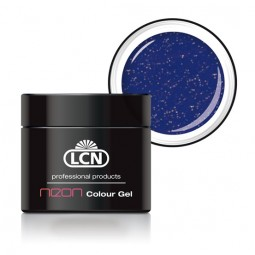 Colour Gel Neon Glitter Blue 5ml
