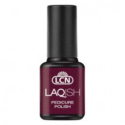 LAQISH Pedicure Polish Seduction In Black Cherry 8ml
