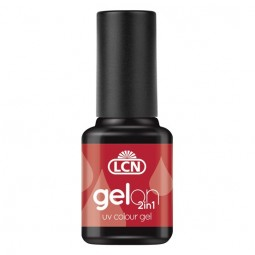 GelOn 2in1 UV Colour Gel Dark Red 8ml