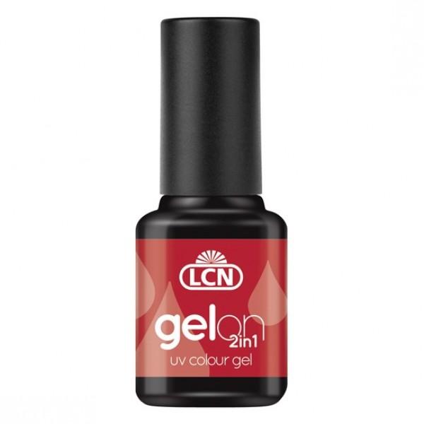 GelOn 2in1 UV Colour Gel Dark Red 8ml