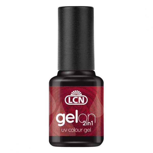GelOn 2in1 UV Colour Gel Rubin Red 8ml