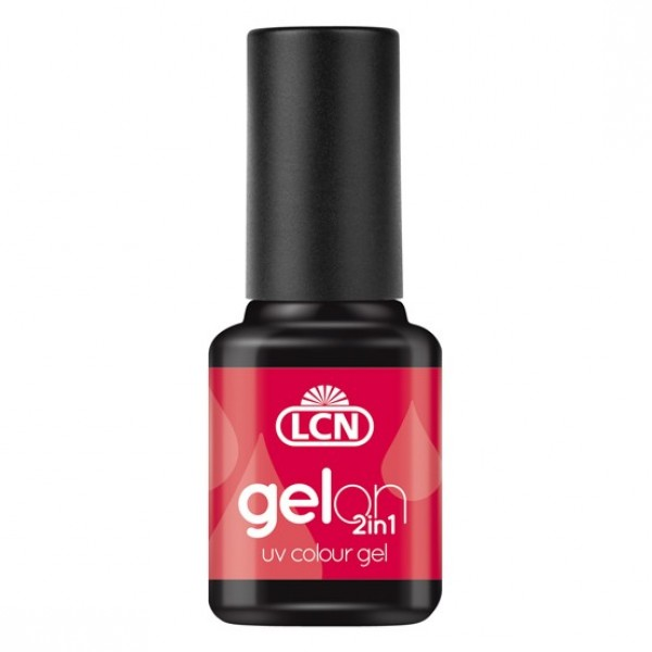 GelOn 2in1 UV Colour Gel Hot Chilli 8ml