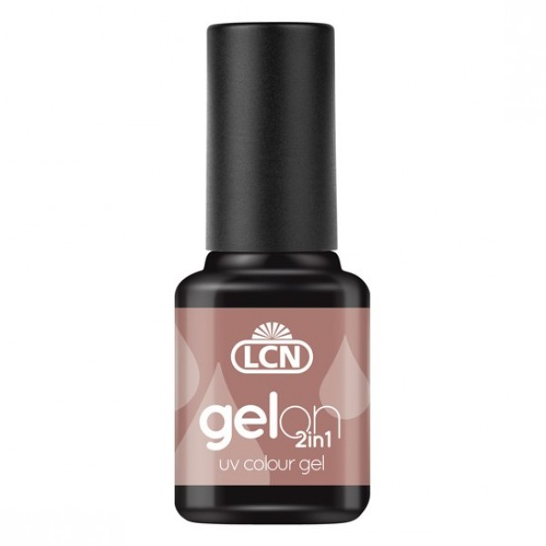 GelOn 2in1 UV Colour Gel Satin Slipper 8ml