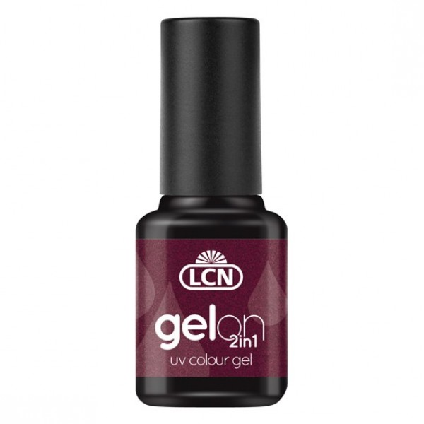 GelOn 2in1 UV Colour Gel Dark Black Cherry 8ml