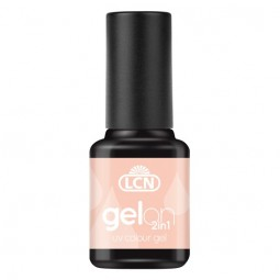 GelOn 2in1 UV Colour Gel Black 8ml