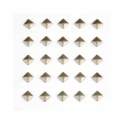 Studs Sticker Matte Square