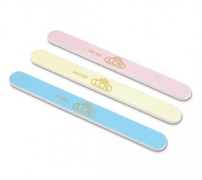 Pastel line file medium150/150 light blue