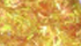 Nail art Lametta yellow