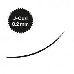Captivating Lashes - 0,2 mm / J-Curl