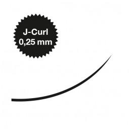 Captivating Lashes - 0,25 mm / J-Curl