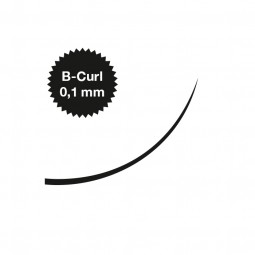 Captivating Lashes - 0,1 mm / B-Curl