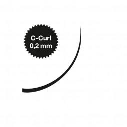 Captivating Lashes - 0,2 mm / C-Curl