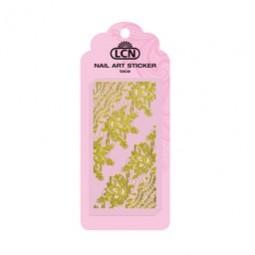 Nail Art Spitzen Sticker guld