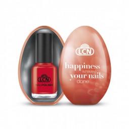 Presentförpackning ägg tom orange