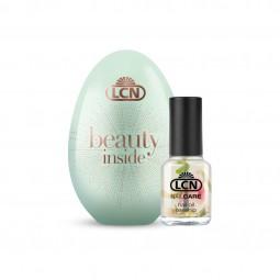 Presentförpackning Beauty egg mint med nail oil rosehip