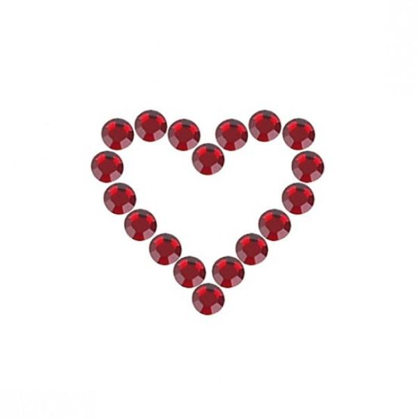 Svarovski Kristalle red mini 50st